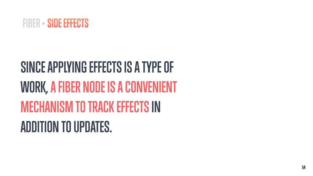 SINCE APPLYING EFFECTS IS A TYPE OF WORK, A FIB...