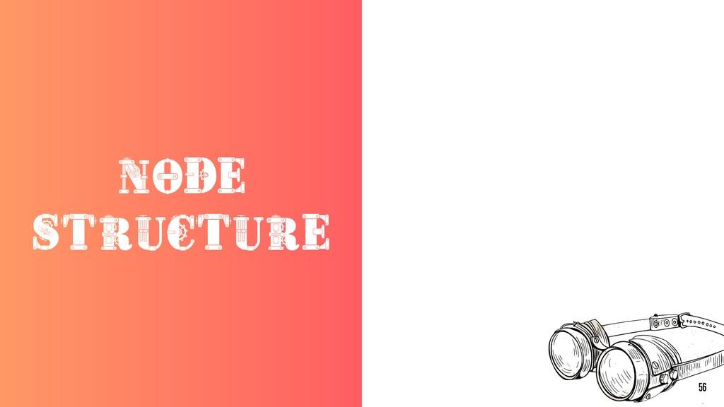 NODE STRUCTURE 56