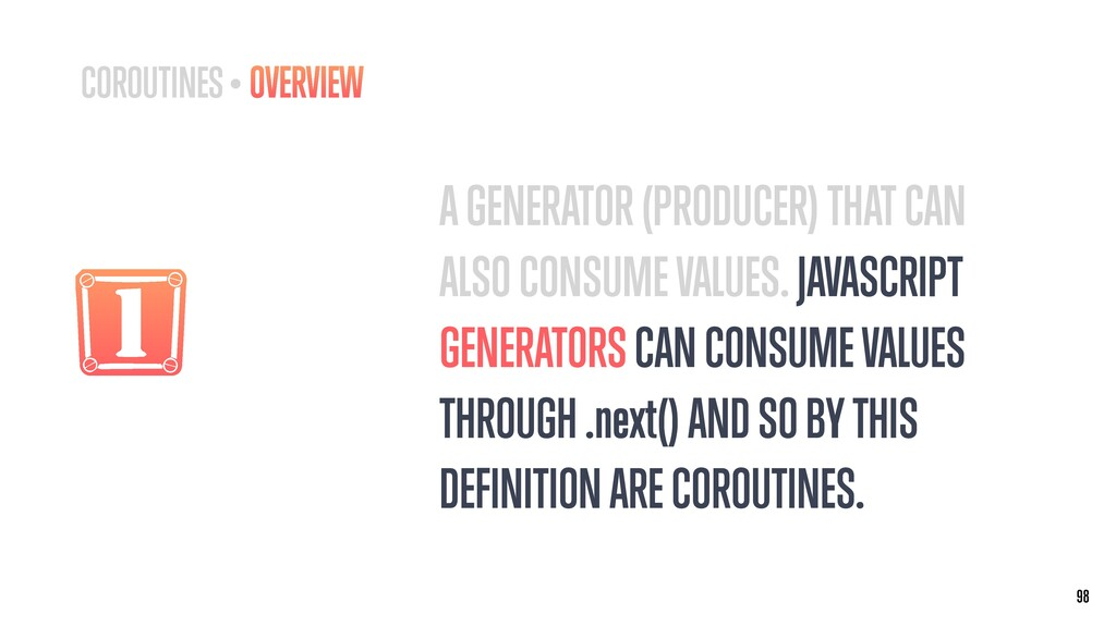 1 A GENERATOR (PRODUCER) THAT CAN ALSO CONSUME ...