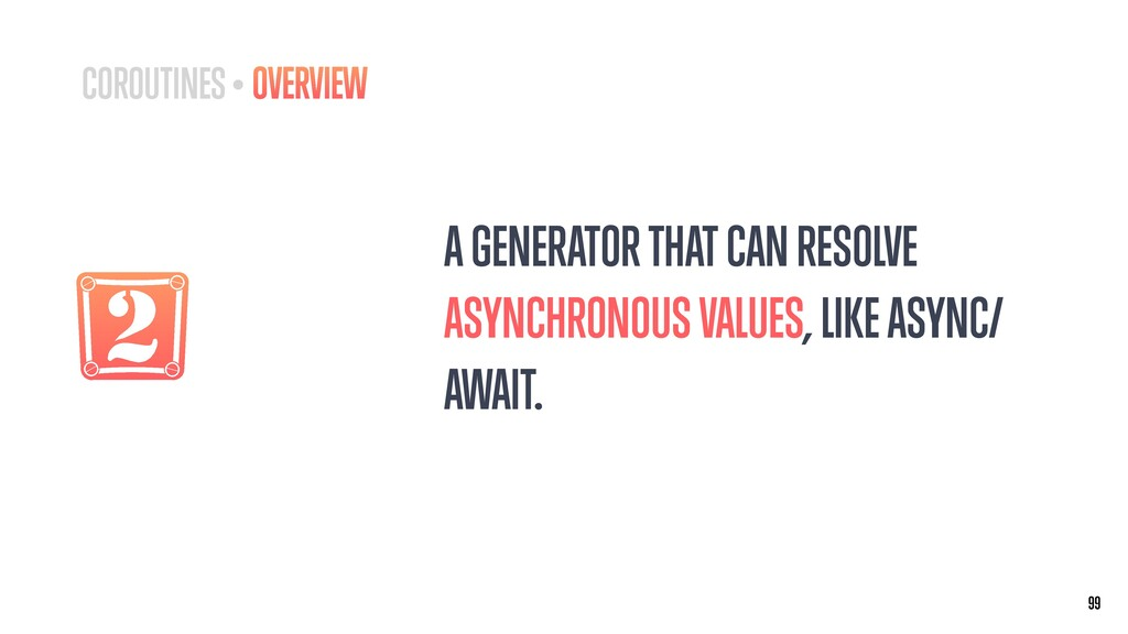 2 A GENERATOR THAT CAN RESOLVE ASYNCHRONOUS VAL...