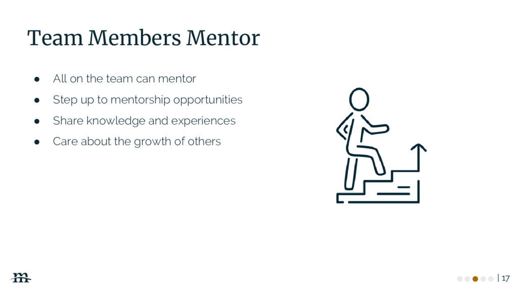 | 17 Team Members Mentor ● All on the team can ...
