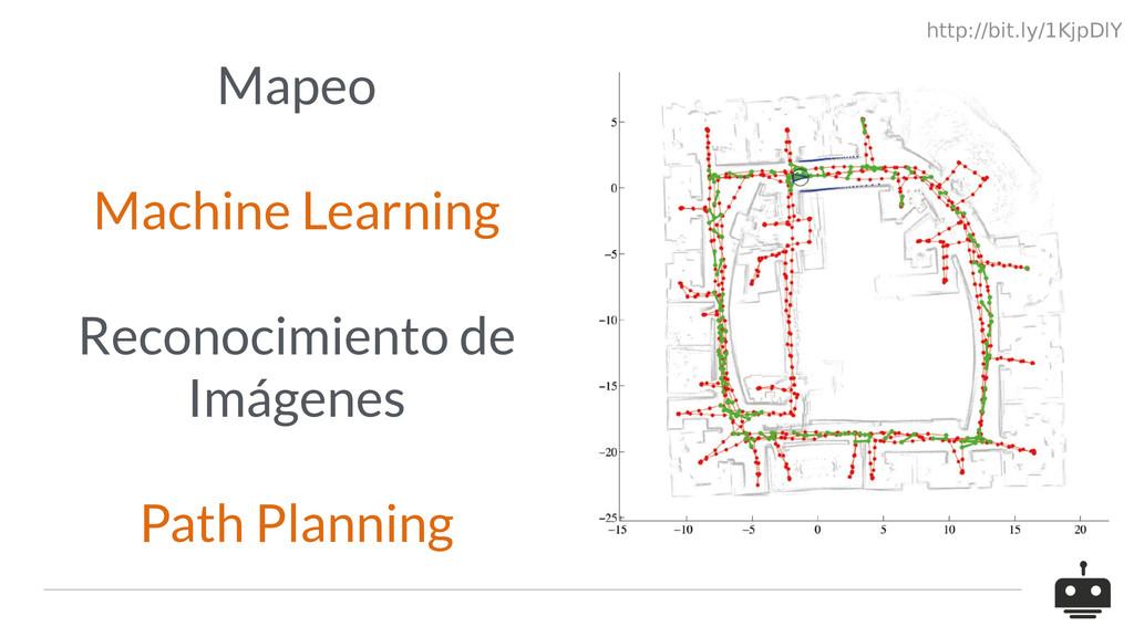 Mapeo Machine Learning Reconocimiento de Imágen...