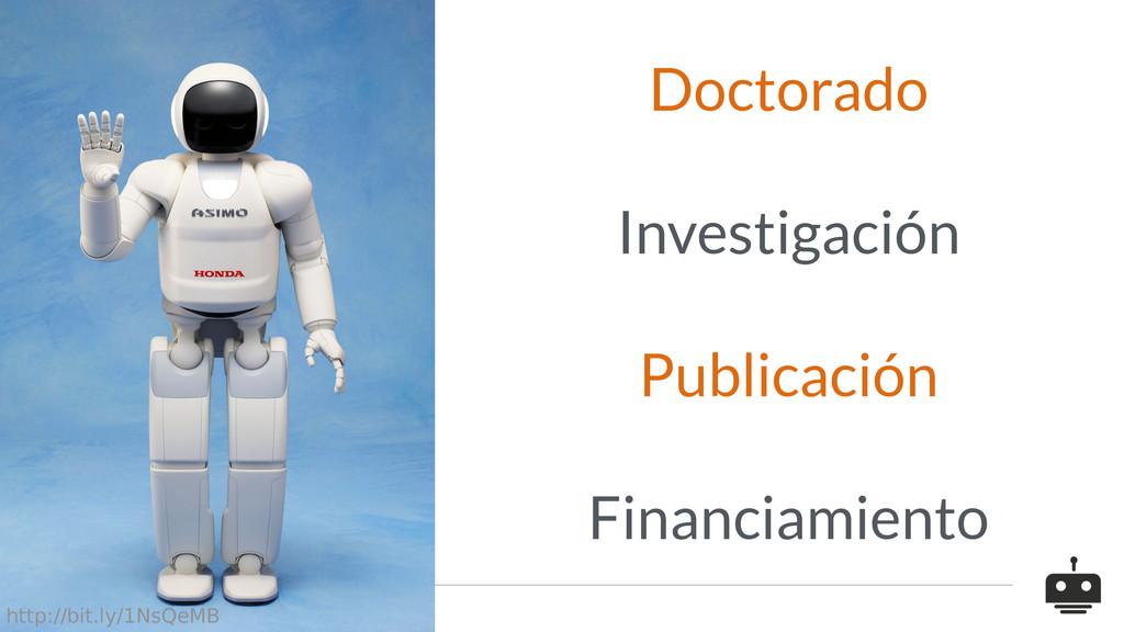 Doctorado Investigación Publicación Financiamie...