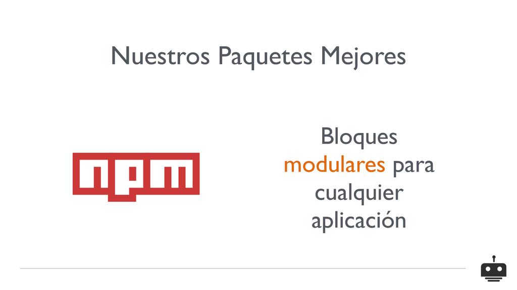 Nuestros Paquetes Mejores Bloques modulares par...