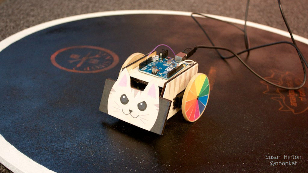 Wait, what's a NodeBot? Susan Hinton @noopkat