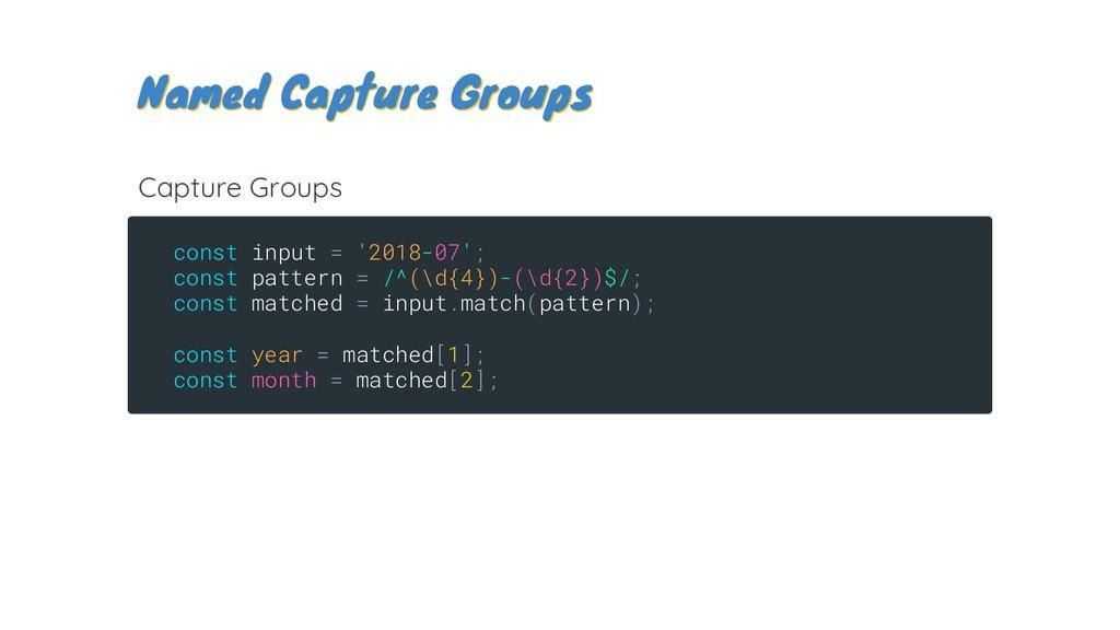 const input = '2018-07'; const pattern = /^(\d{...