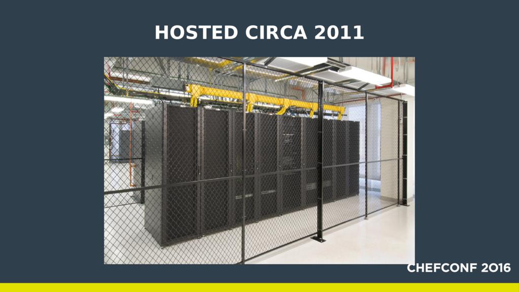 HOSTED CIRCA 2011