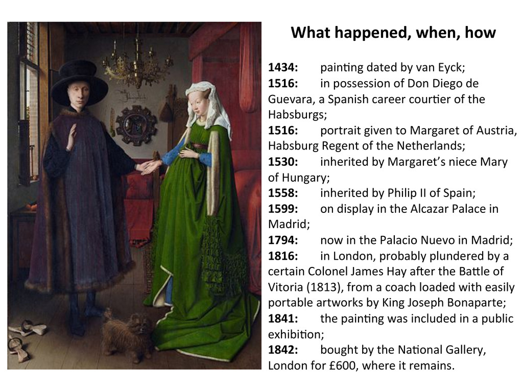 What happened, when, how    1434...