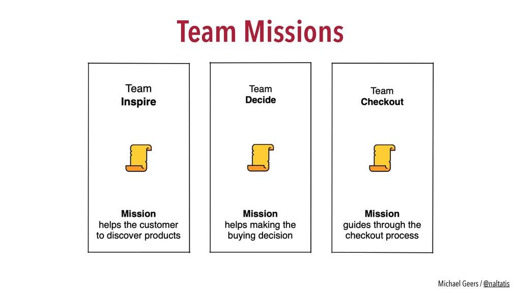 Team Missions Michael Geers / @naltatis