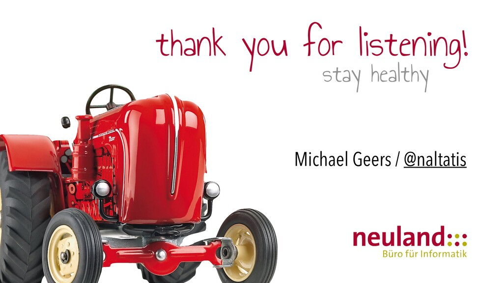 thank you for listening!   stay healthy Michael...