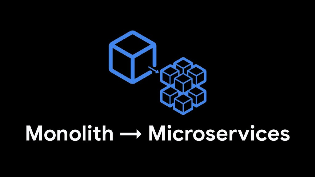 Monolith → Microservices