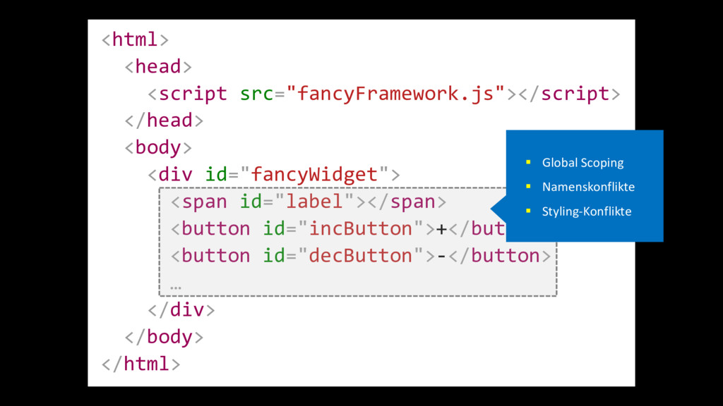 "<html> <head> <script src=""fancyFramework.js""><..."