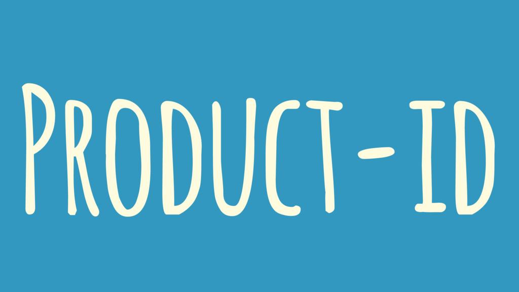 Product-id