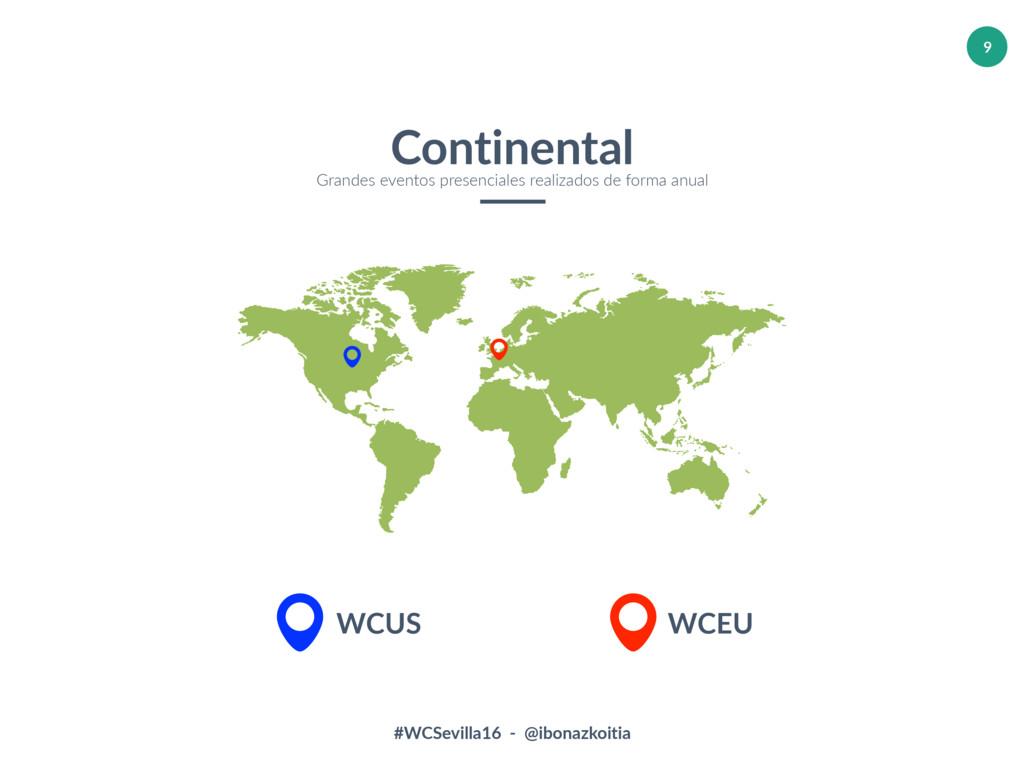 #WCSevilla16 - @ibonazkoitia 9 Continental Gran...