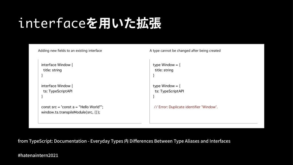 interface榫ַג䦡䍖 GSPN5ZQF4DSJQU%PDVNFOUBUJPO...