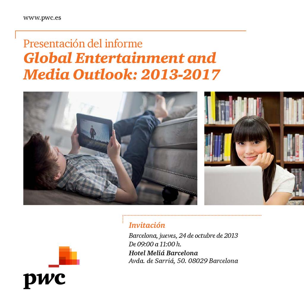 www.pwc.es Presentación del informe Global Ente...