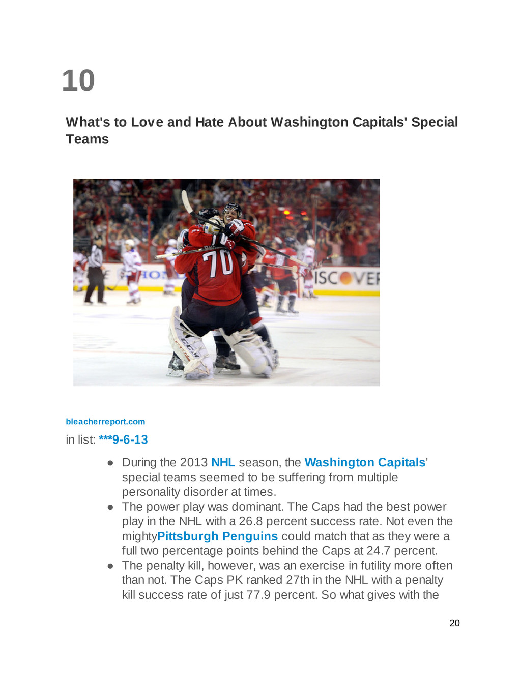 10 What's to Love and Hate About Washington Cap...