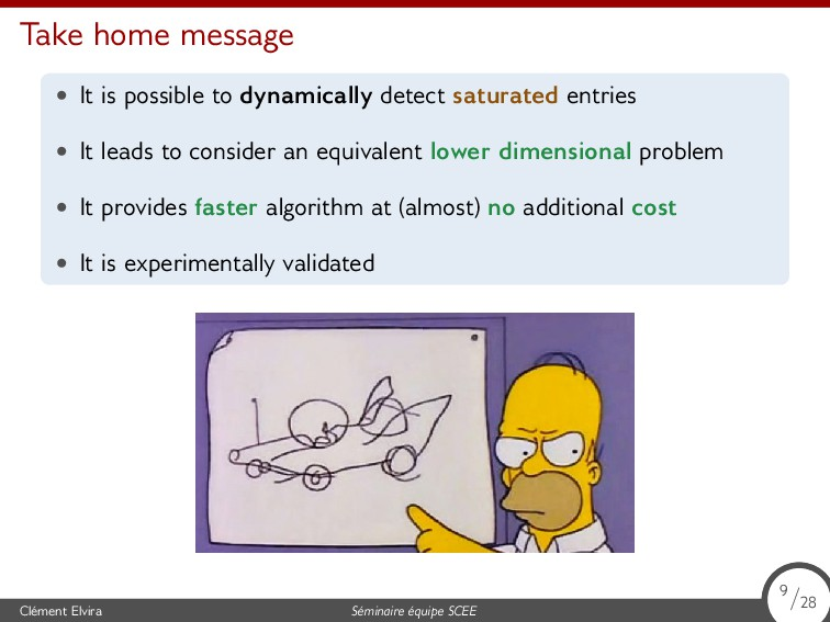 Take home message • It is possible to dynamical...