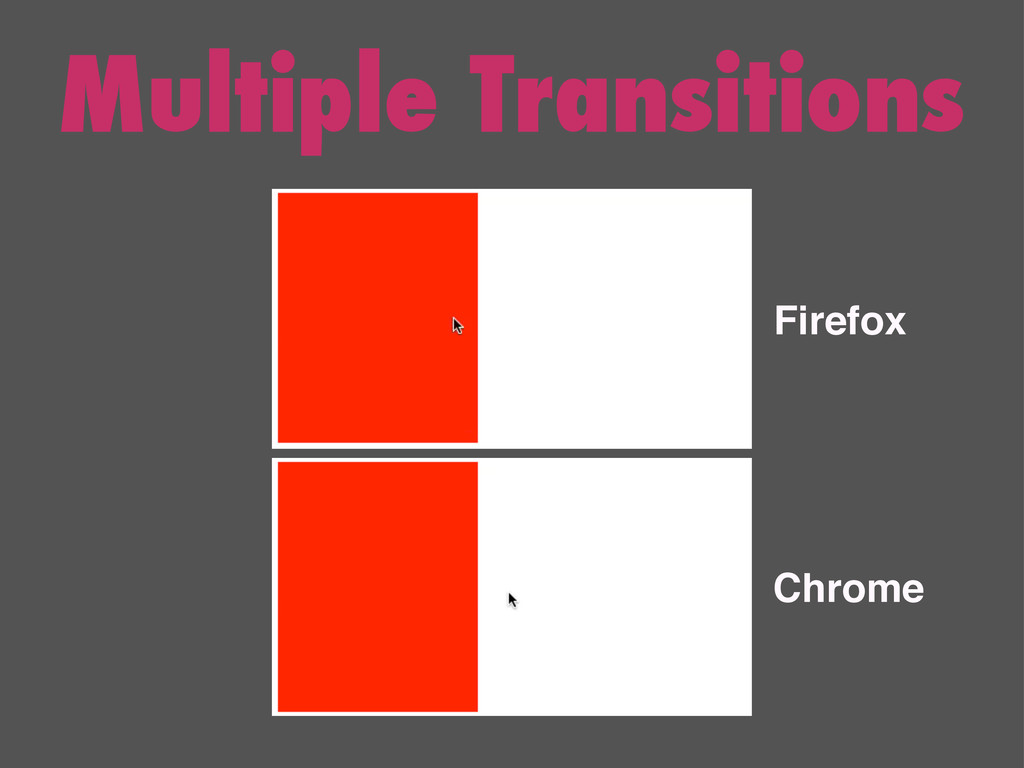 Multiple Transitions Firefox Chrome