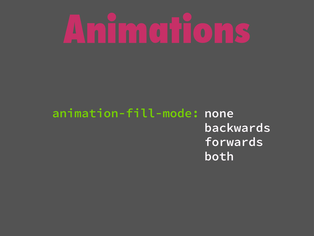 Animations none backwards forwards both animati...