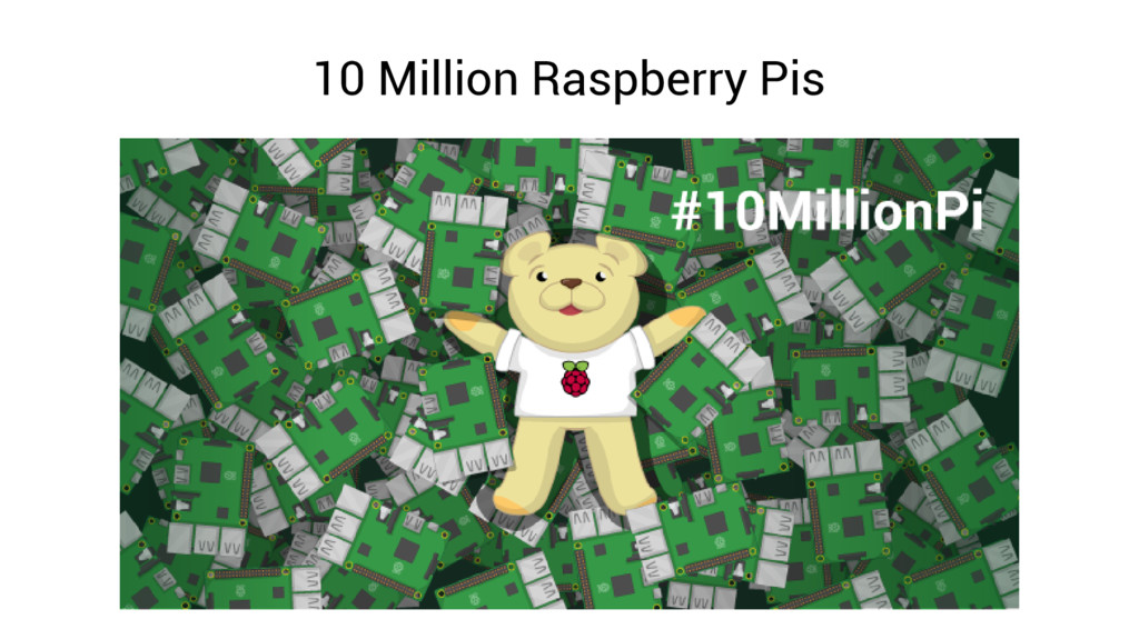 10 Million Raspberry Pis
