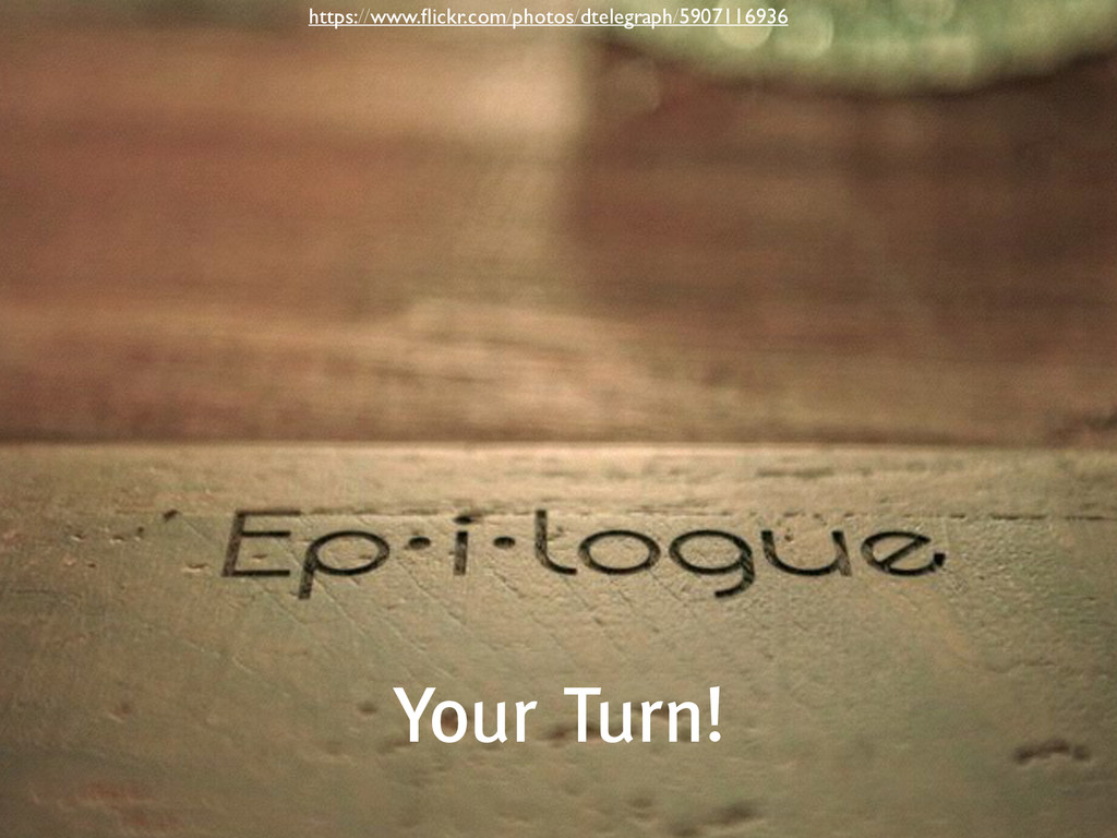 Your Turn! https://www.flickr.com/photos/dtelegr...