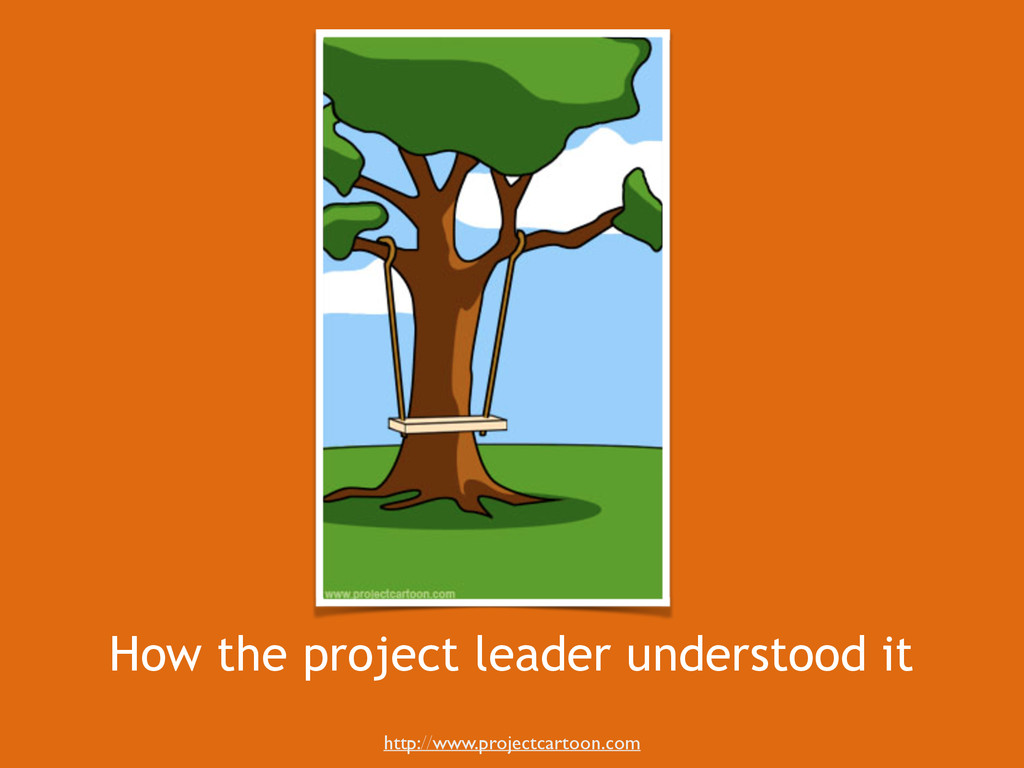 How the project leader understood it http://www...