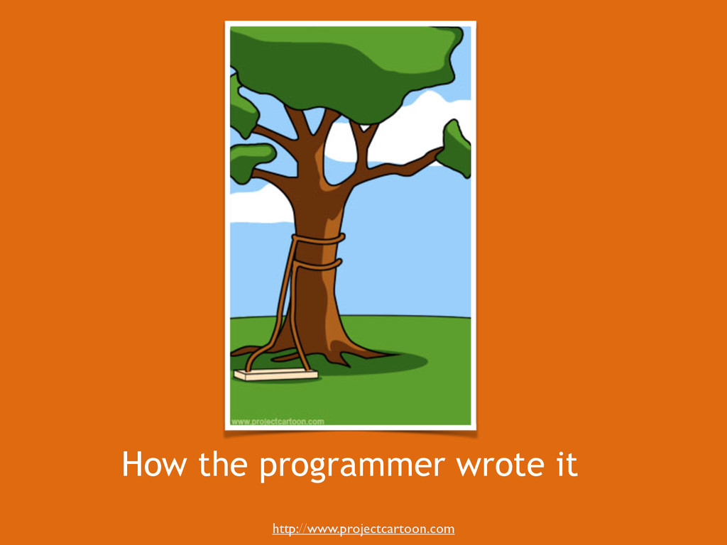 How the programmer wrote it http://www.projectc...