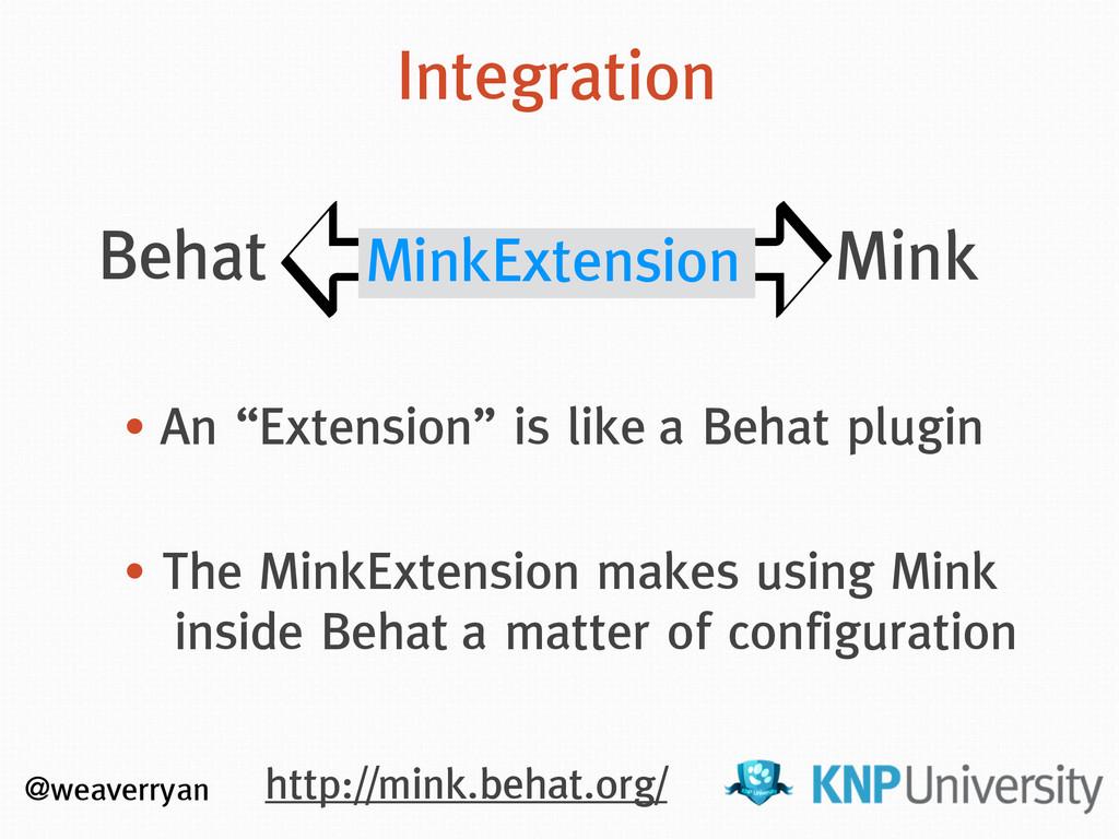http://mink.behat.org/ @weaverryan Behat Mink I...