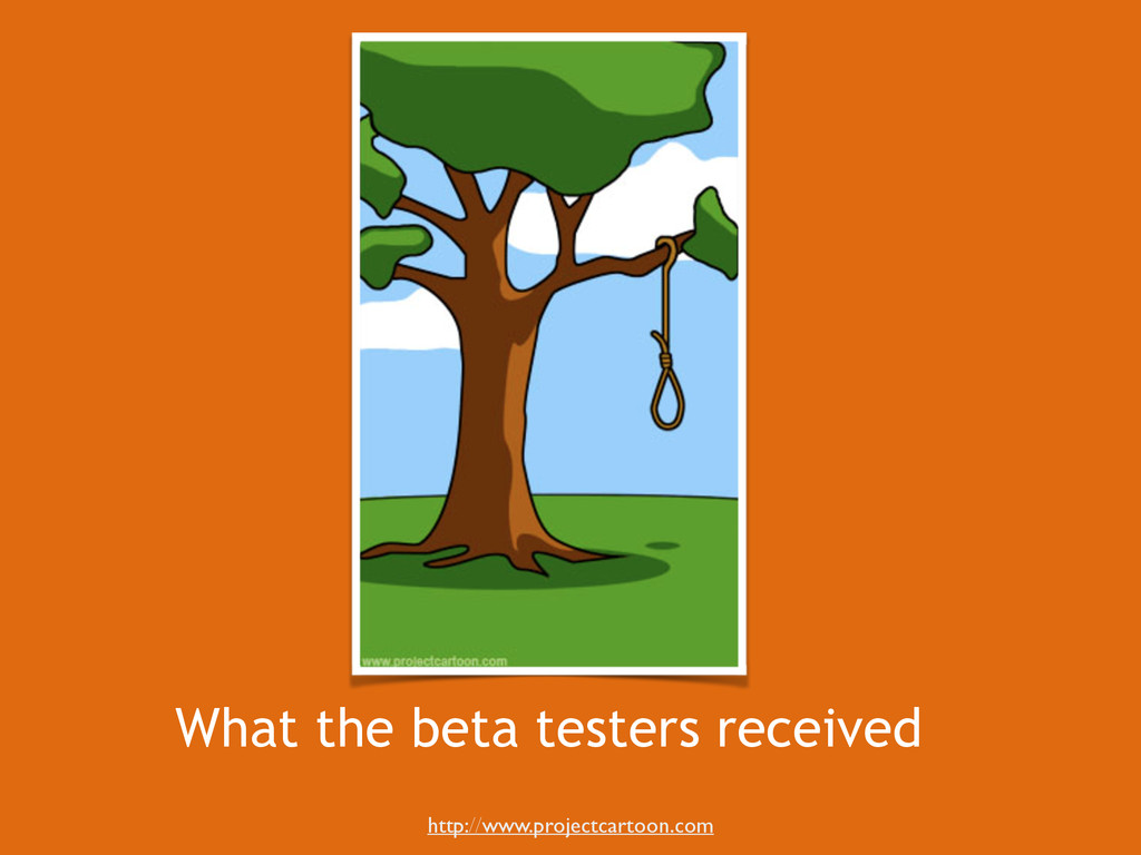 What the beta testers received http://www.proje...