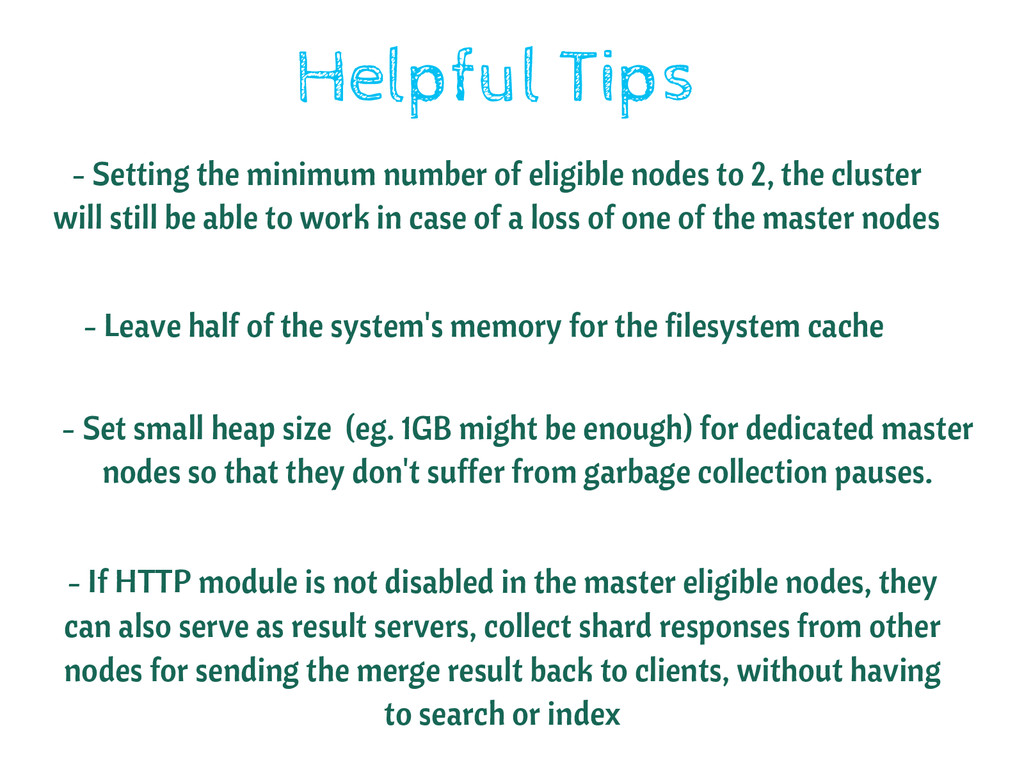 Helpful Tips - Setting the minimum number of el...