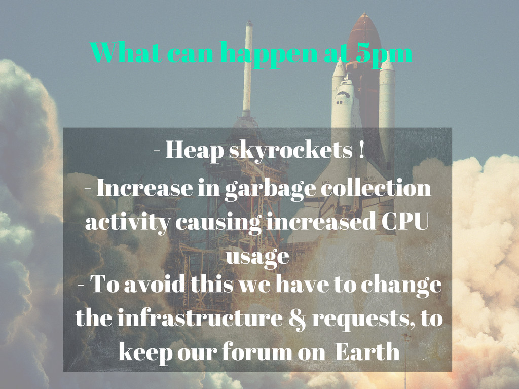 What can happen at 5pm - Heap skyrockets ! - To...
