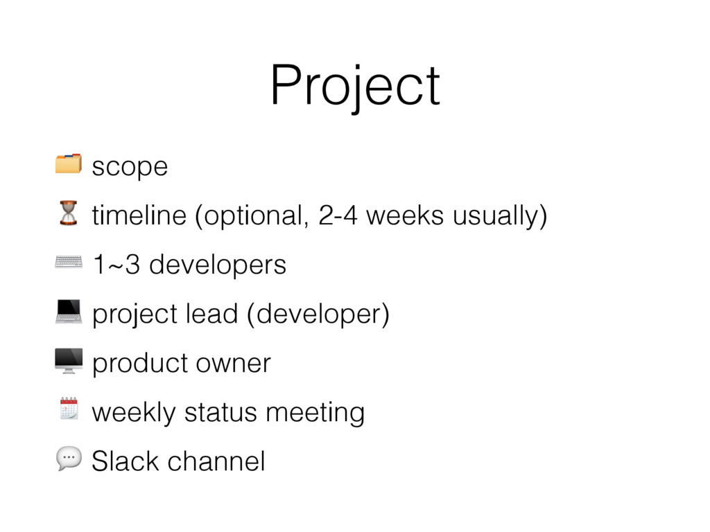 Project  scope ⏳ timeline (optional, 2-4 weeks ...