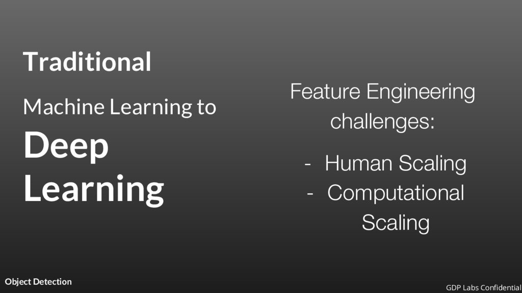 Traditional Machine Learning to Deep Learning O...