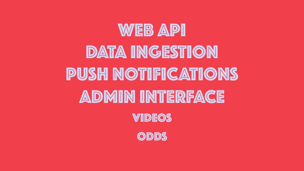 WEB API DATA INGESTION PUSH NOTIFICATIONS ADMIN...