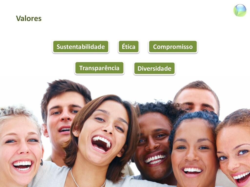 Valores Ética Sustentabilidade Compromisso Tran...