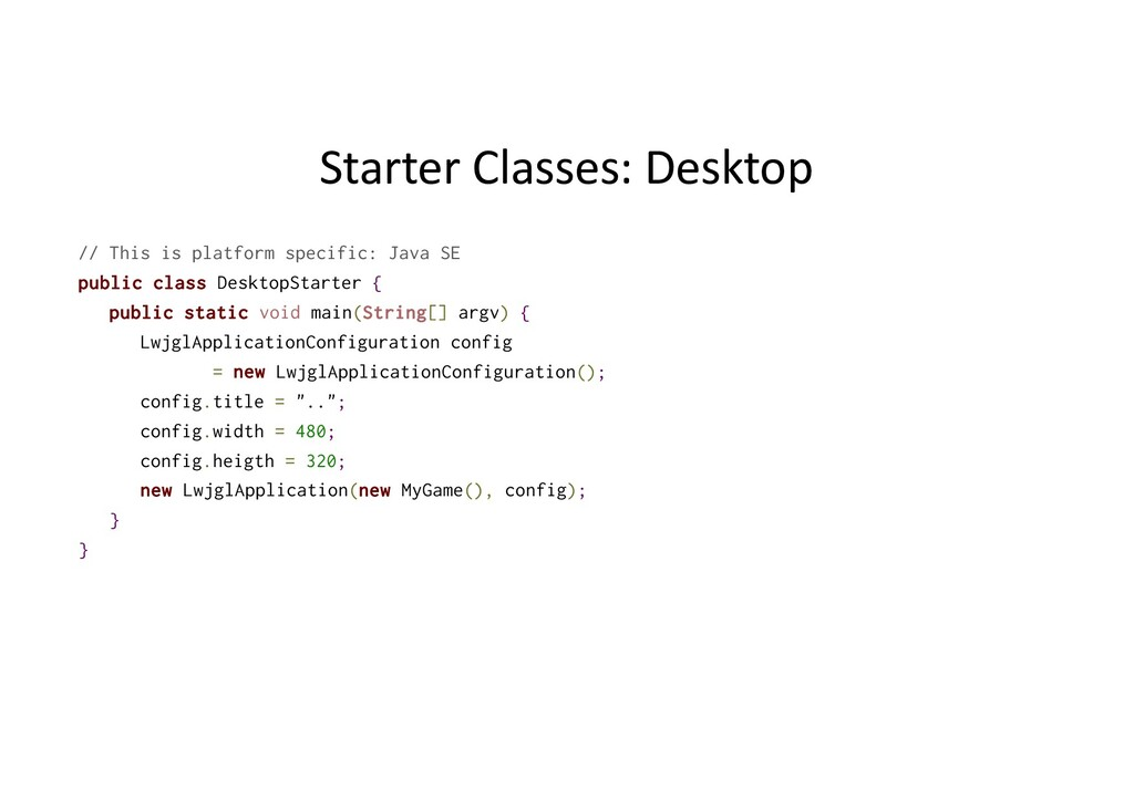Starter Classes: Desktop // This is platform sp...