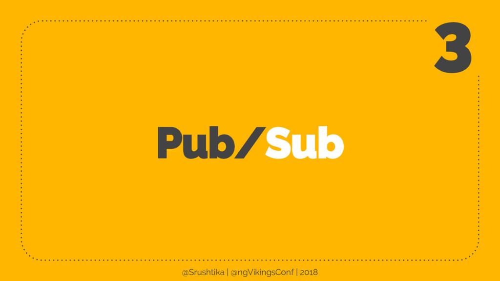 Pub/Sub 3 @Srushtika | @ngVikingsConf | 2018