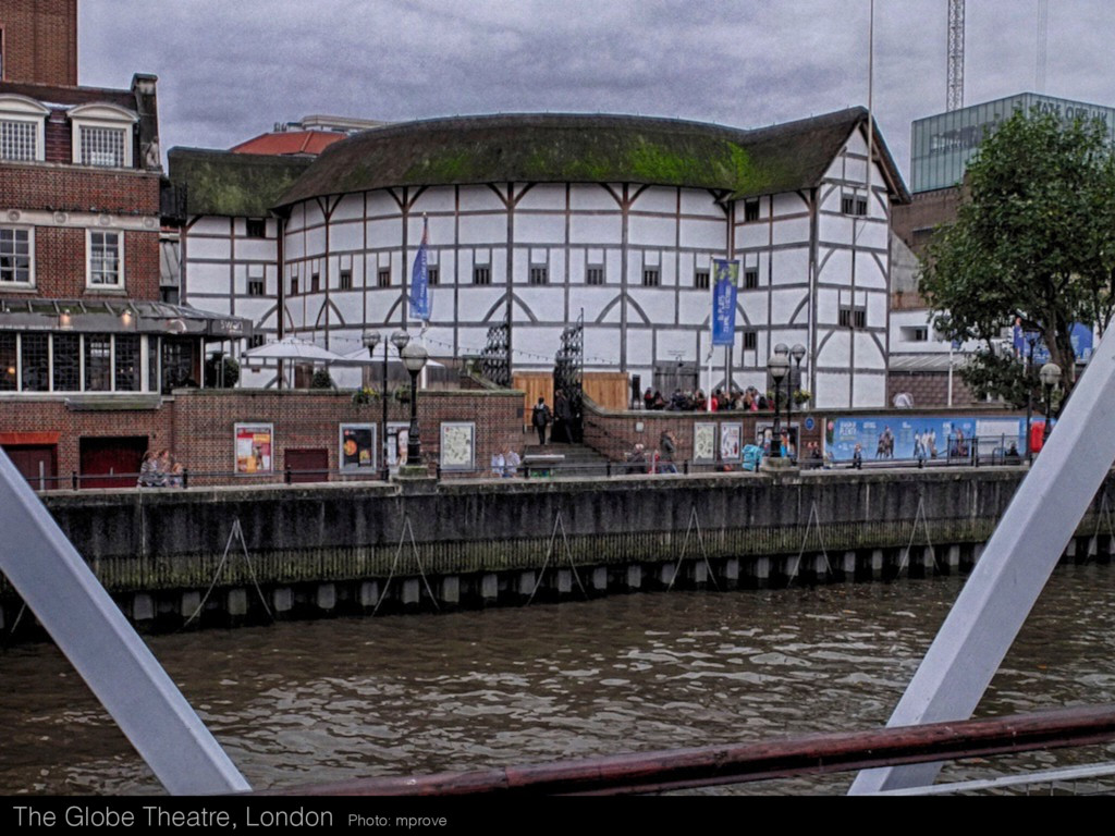 The Globe Theatre, London Photo: mprove