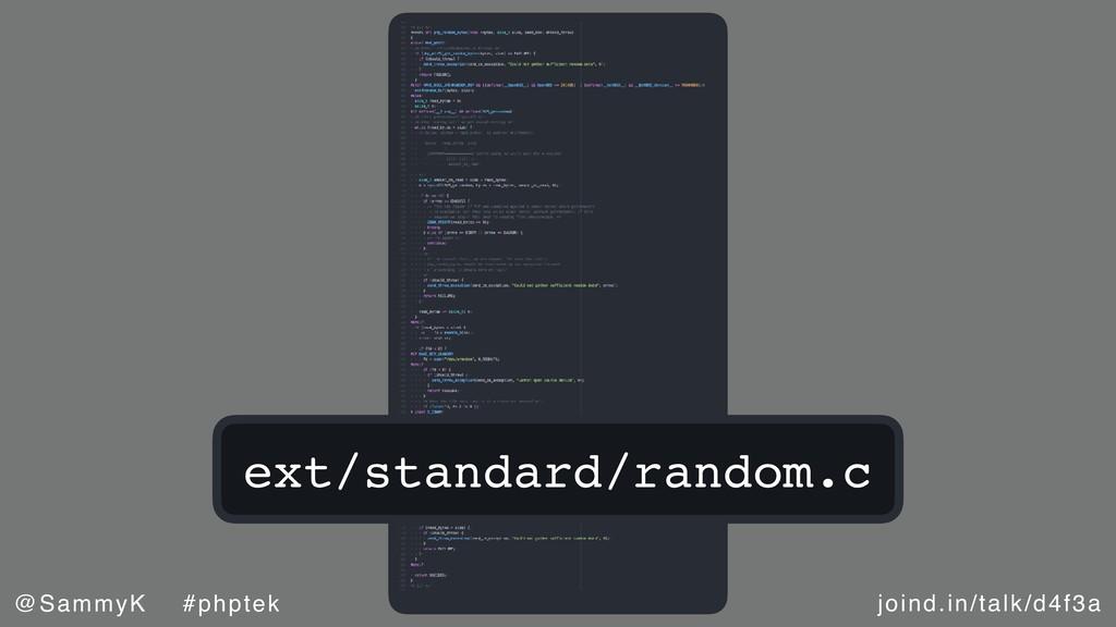 joind.in/talk/d4f3a @SammyK #phptek ext/standar...