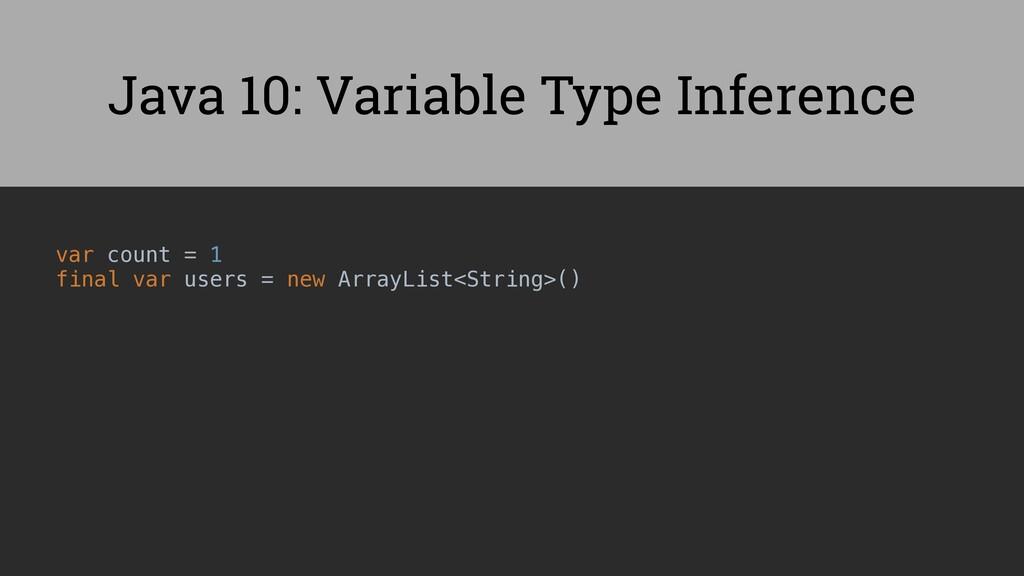 var count = 1 final var users = new ArrayList<S...