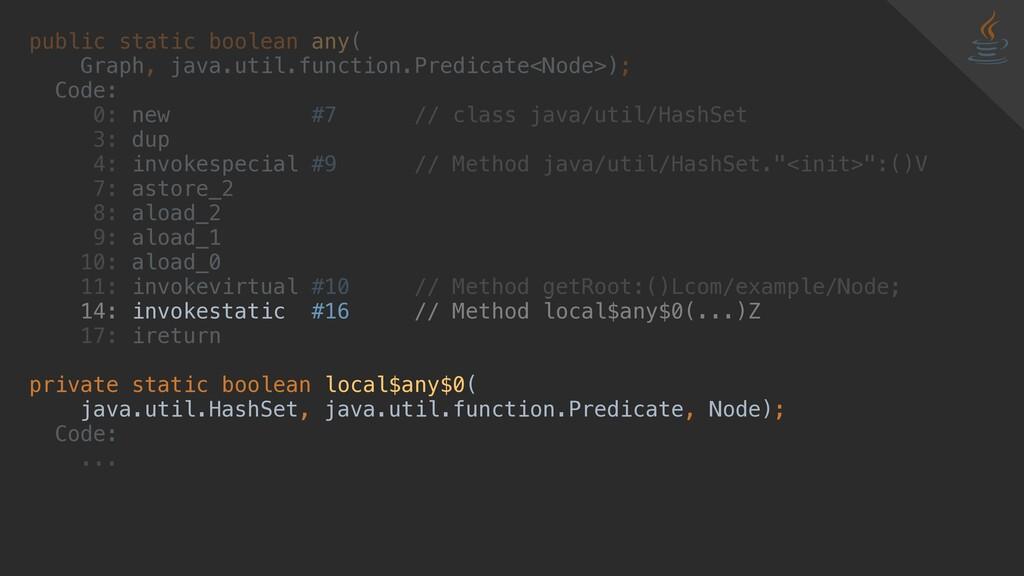 public static boolean any( Graph, java.util.fun...