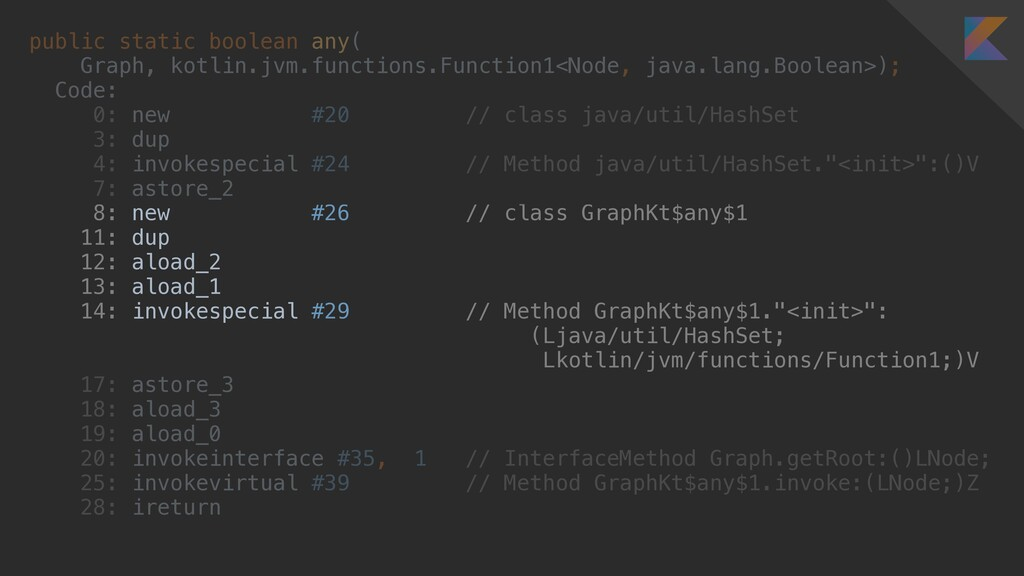 public static boolean any( Graph, kotlin.jvm.fu...