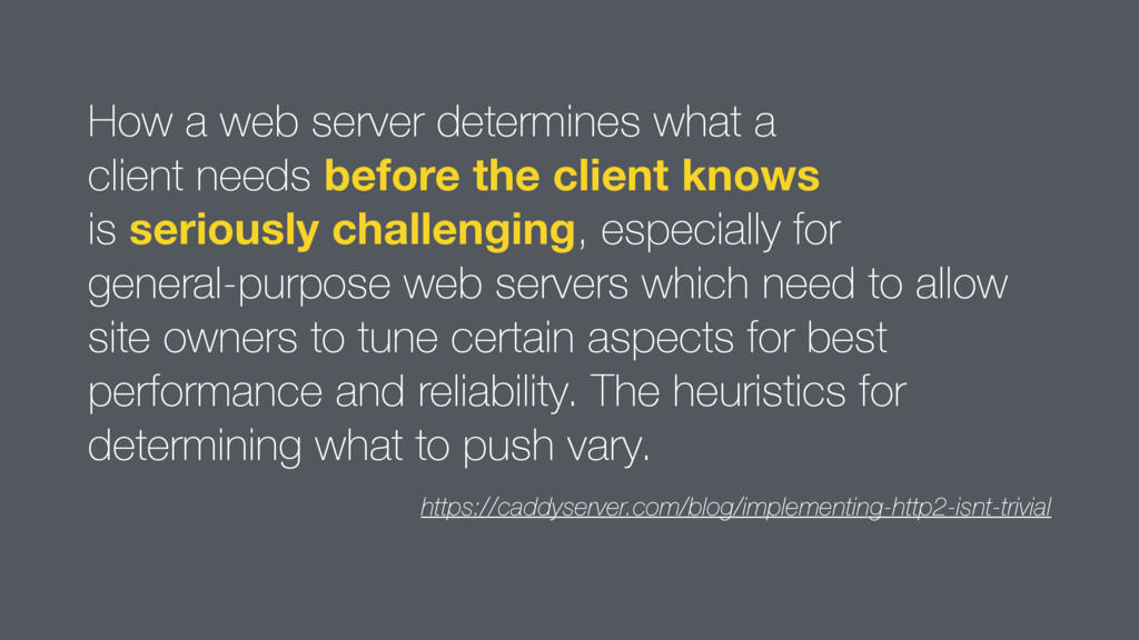 How a web server determines what a  client nee...