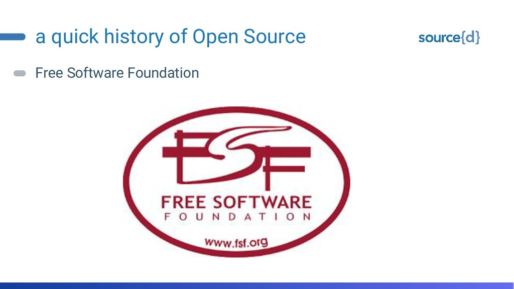 a quick history of Open Source Free Software Fo...