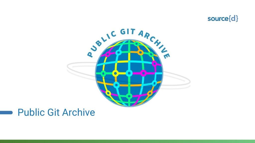 Public Git Archive
