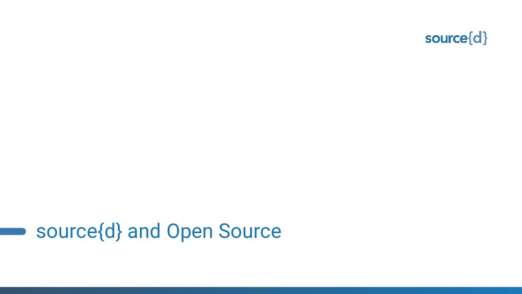 source{d} and Open Source