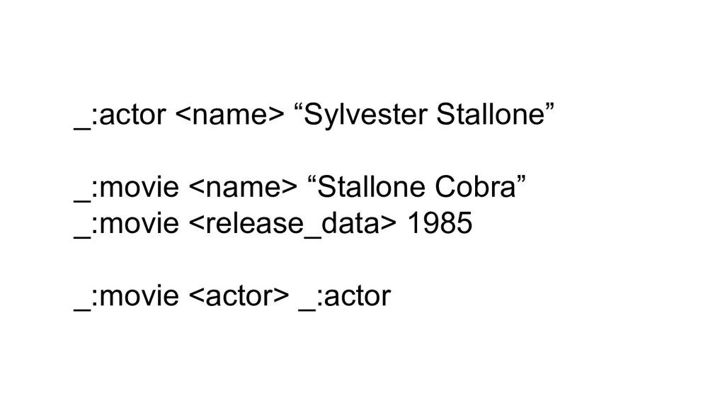 "_:actor <name> ""Sylvester Stallone"" _:movie <na..."