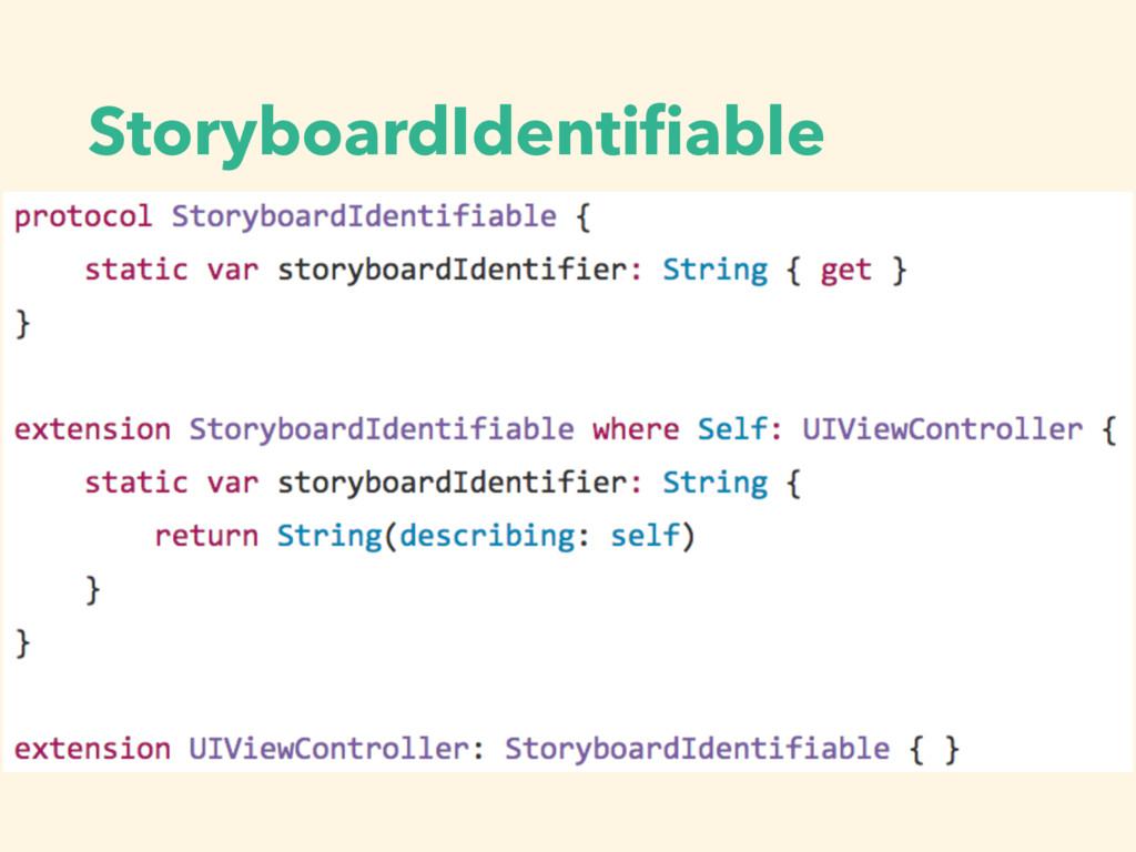 StoryboardIdentifiable