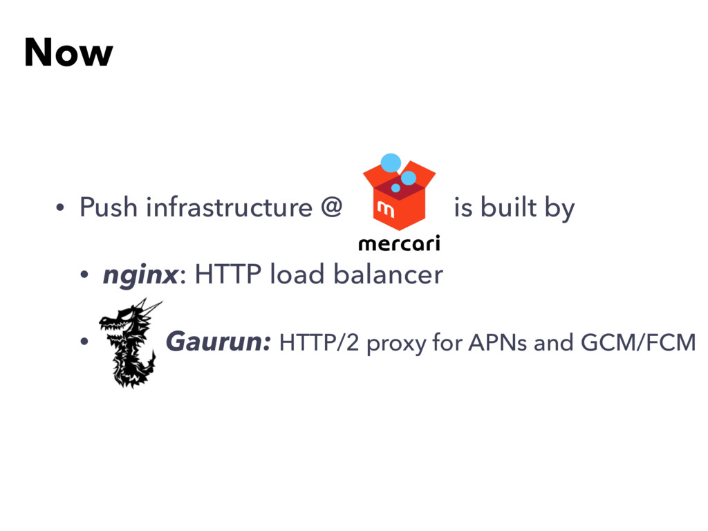 • Push infrastructure @ is built by • nginx: HT...